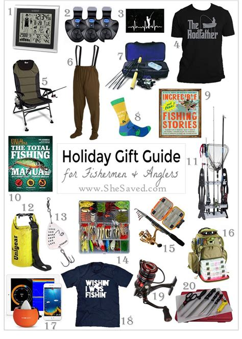 holiday gift guide gifts for the fisherman or woman on