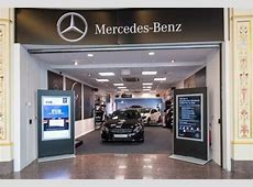 Pop in to MercedesBenz PopUp Shop