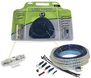 Scosche Watt Amplifier Wiring Kit