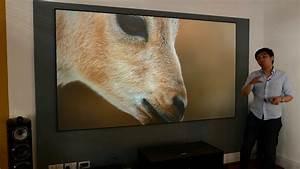 Sony Vpl-vz1000es 4k Hdr Laser Projector   100 U0026quot  Tv