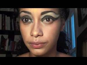 Akasha Inspired Halloween Makeup Queen of the Damned - YouTube