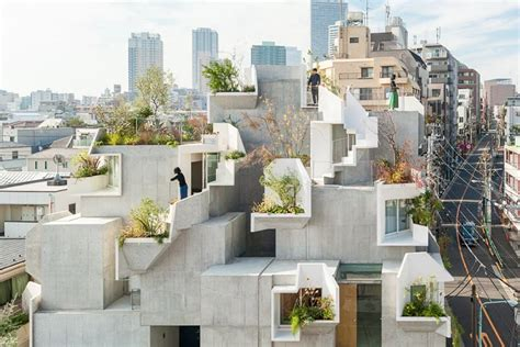 Tree Ness House In Tokio by This Tokyo Apartment Building Is A Concrete Jungle Curbed