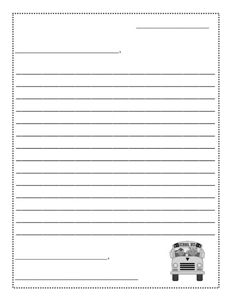 Free Letter Writing Template by Friendly Letter Templateletter Writing Template Formal