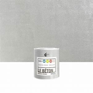 peinture a effet le beton maison deco paillete 05 l With peinture effet beton sur bois