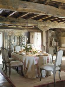 Rustic French Country Dining Rooms