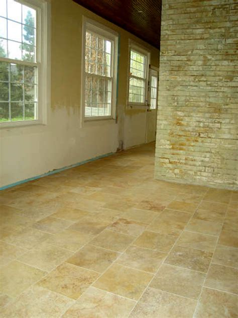 travertine marble flooring homes and garden journal
