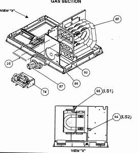 Gas Section Diagram  U0026 Parts List For Model Py1pnb036090