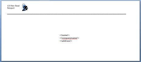 print envelopes  crm software  print customer envelope