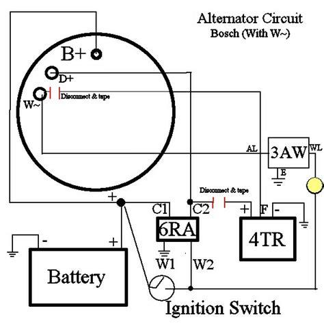 bosch alternator help page 2 pajero 4wd club of forum
