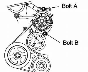 2004 Scion Xb How To Change Alt  Power Steering Belts