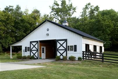 Barn With Black Trim by White Board And Batten With Black Trim Barn