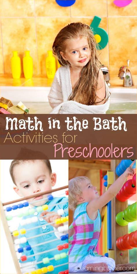 common core math in the bath activities for preschoolers