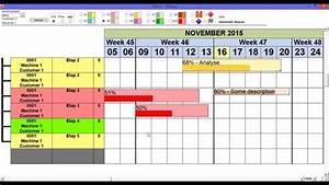 Microsoft Access - Gantt Chart