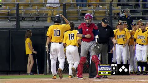 southern  baseball highlights  south alabama