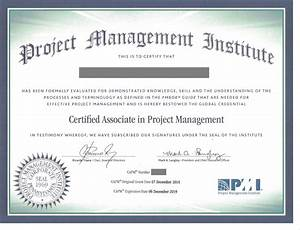 Certified Associate In Project Management
