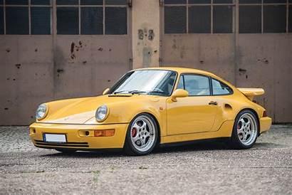 911 Porsche Turbo 964 Yellow Leichtbau Cars
