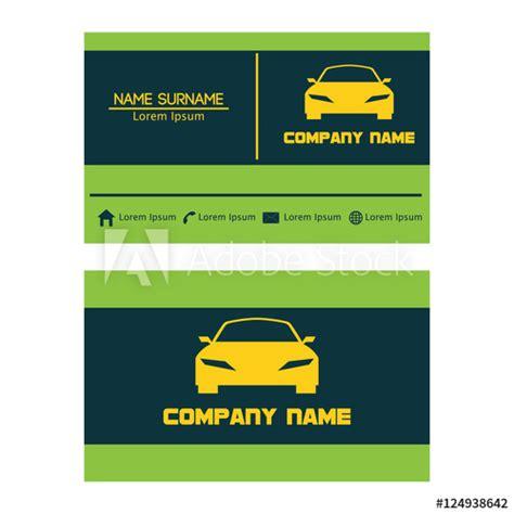 business card design template  car automotive
