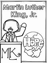 Luther Martin King Coloring Mlk Jr Washington Raskrasil sketch template