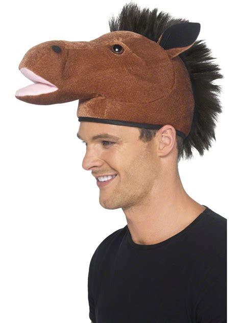 horse hat  mane  fancy dress ball