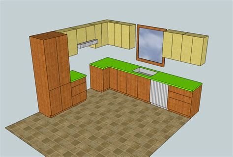 faire une cuisine en 3d comment dessiner une cuisine