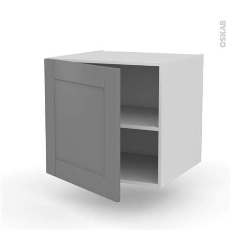 meuble de cuisine suspendu meuble de cuisine bas suspendu filipen gris 1 porte l60 x