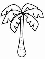 Tree Banana Coloring Pages Palm Pattern Drawing Trees Monkey Printable Jungle Sheets Drawings Templates Number Uploaded User Sheet Christmas Getdrawings sketch template