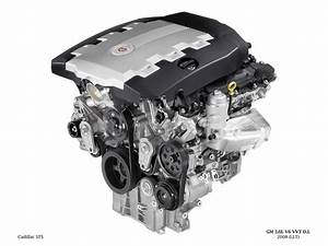 2008 Cadillac Sts - Engine - 1280x960