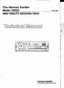 Harman Kardon Avr130 Service Manual Free Download