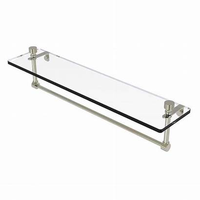 Glass Vanity Shelf Brass Allied Foxtrot 22tb