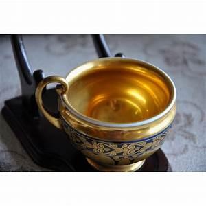 Tasse Et Sous Tasse : tasse et sous tasse en porcelaine d cor sur moinat sa antiquit s d coration ~ Teatrodelosmanantiales.com Idées de Décoration