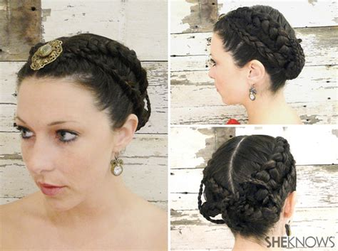 hunger games wedding hairstyle tutorial