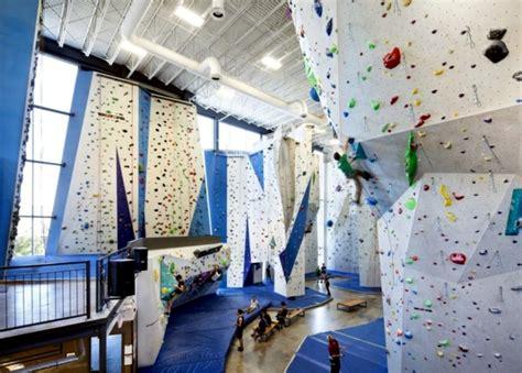 modern indoor climbing center  canada offers fun