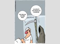 Cartoon Neuer Job