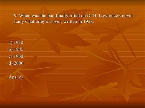 literary quiz presentation 1