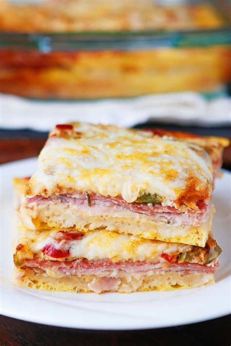 breakfast bake recipe italian breakfast casserole recipe just a pinch recipes