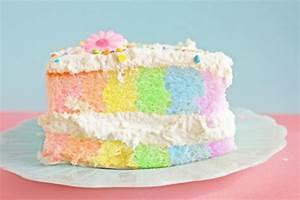 pastel rainbow cake | Tumblr
