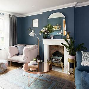 Blue, Living, Room, Ideas, U2013, Decor, In, Shades, From, Navy, To, Duck