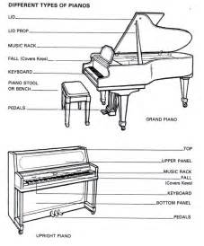 Grand Piano Parts Diagram