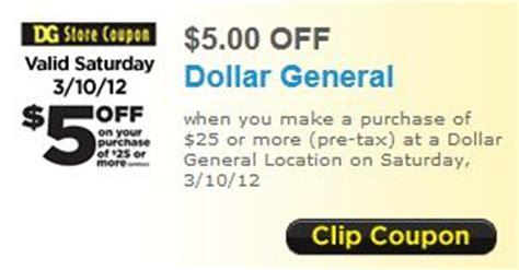 dollar general    printable coupon southern savers