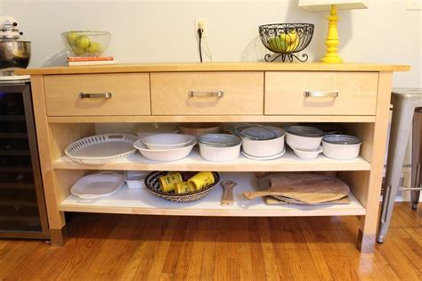 kitchen island shelves ikea varde kitchen island with drawers roselawnlutheran