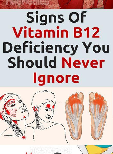 signs  vitamin  deficiency    ignore