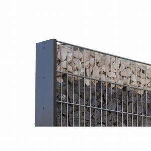 Gabionenzaun Mit Holz : gabionenzaun amelie 162 00 ~ Lizthompson.info Haus und Dekorationen