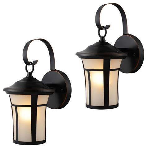 rubbed bronze outdoor patio porch exterior light