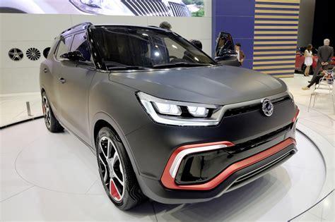 SsangYong XLV-Air Concept Previews Longer Tivoli With A ...