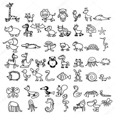 disegni di bambini stilizzati disegni di animali da ritagliare e incollare per bambini