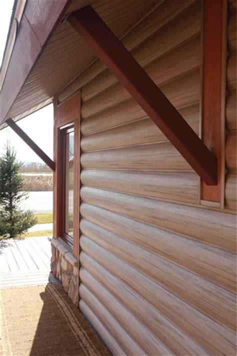 vinyl log siding images  pinterest vinyl shake siding log cabin homes  log homes