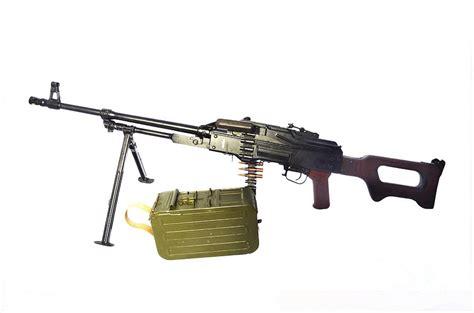Russian Pkm General-purpose Machine Gun Photograph By