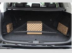 Car trunk luggage net guide