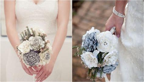 Diy Wedding Bouquet {paper Bridal Flower Tutorial}