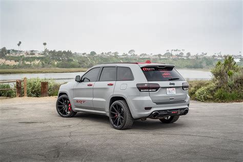 matte grey jeep grand cherokee 2014 jeep grand cherokee srt8 fitted with 22 inch bd11 s